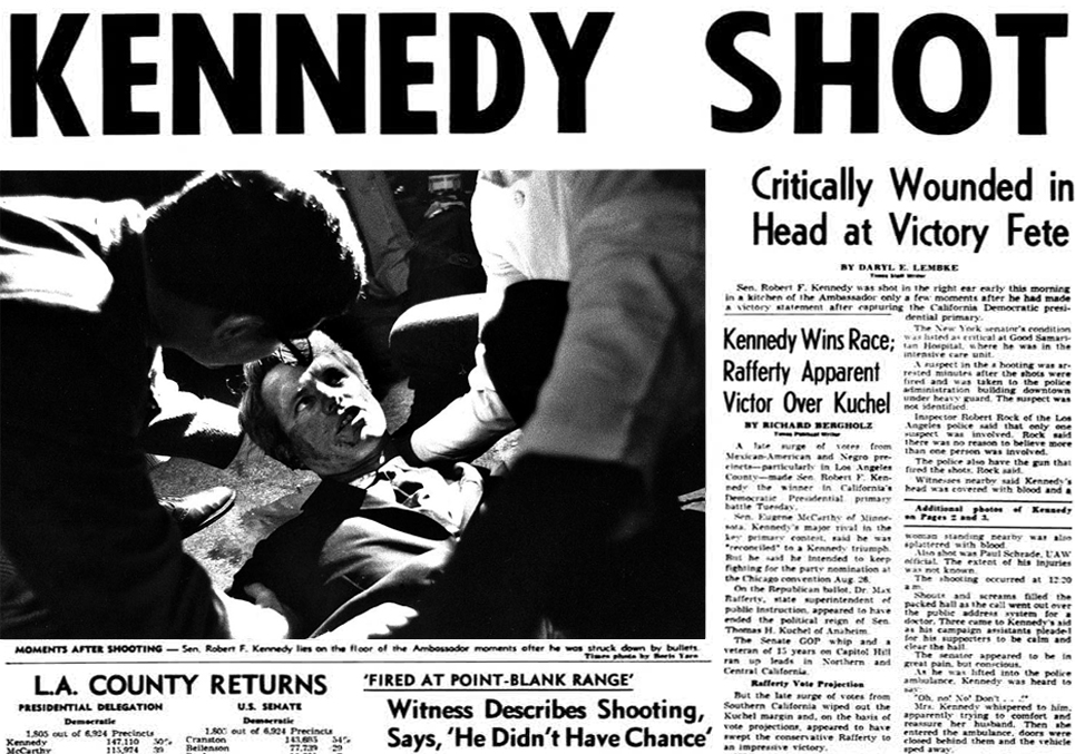 mr kennedy and the 1968 battle for california the oakland standard