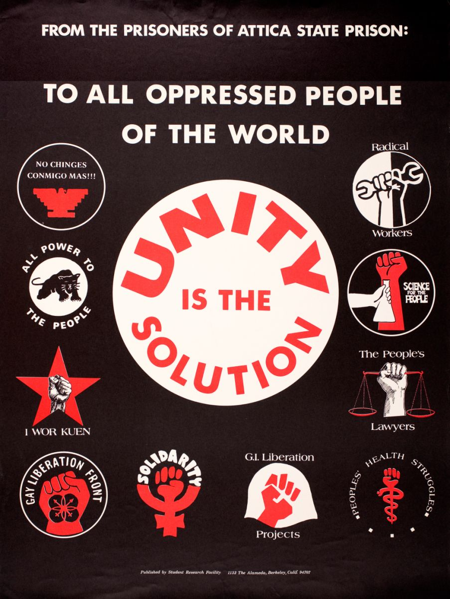 Unity is the Solution poster