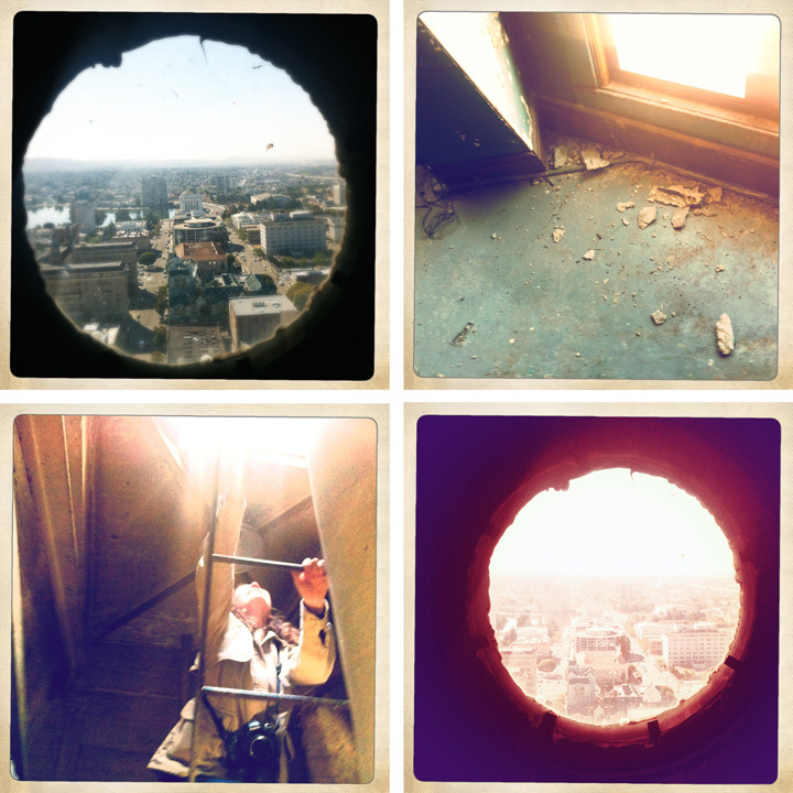 porthole collage